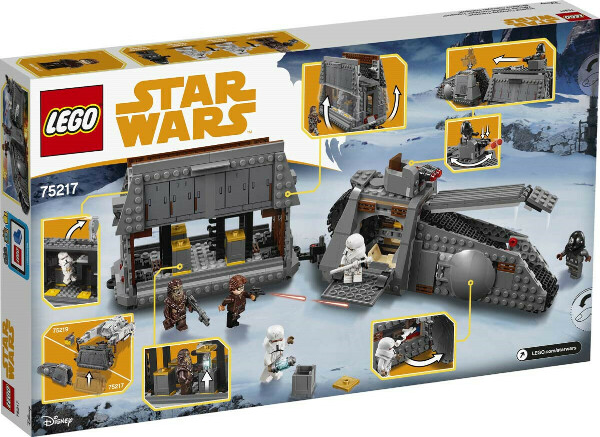 LEGO Star Wars 75217 Имперский транспорт Конструктор