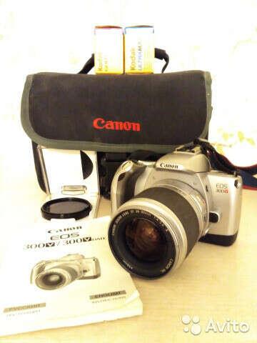 Пленочный фотоаппарат Canon EOS 300V