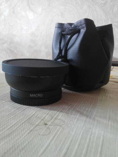 Широкоугольный (макро-объектив) 58 мм для Nikon