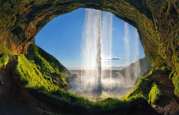 Увидеть вживую водопад Селйяландсфосс, Исландия