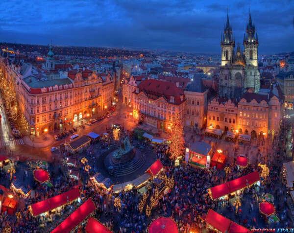 Посетить Прагу в канун Рождества