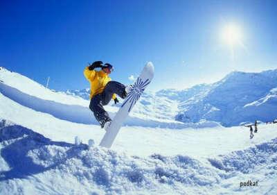 Научиться кататься на сноуборде