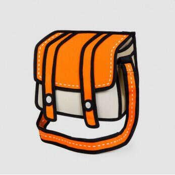 Мультяшная сумка Cheese