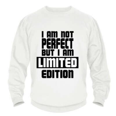 Свитшот I am not PERFECT