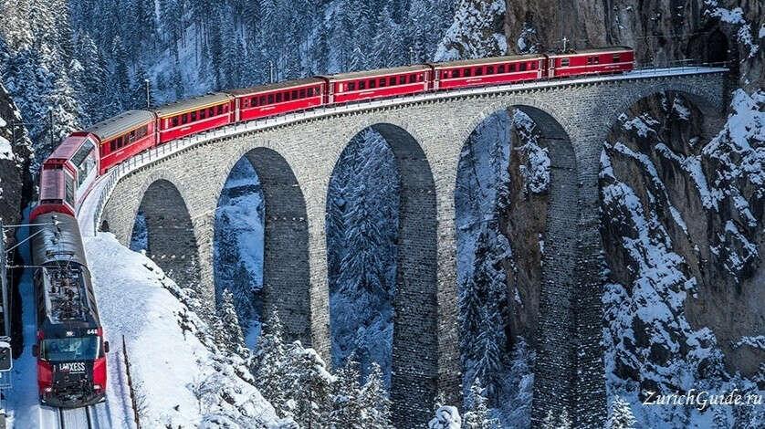 Ледниковый экспресс (Glacier Express) Ст.Мориц - Церматт