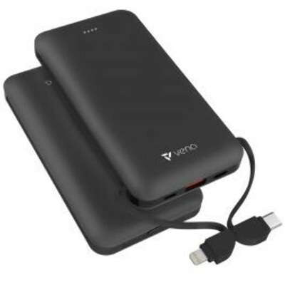 Vena All-in-One 10,000mAh Portable Power Bank