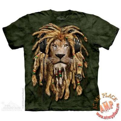 Темно-зеленая футболка Dj Jahman