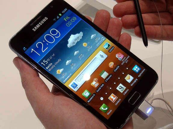 матовая пленка для Samsung Galaxy note