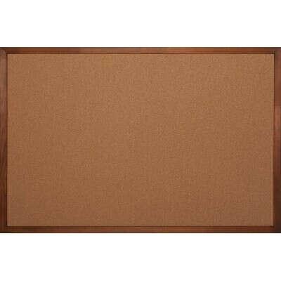 Доска пробковая Комус 60х90 см, деревянная рама - выгодная цена - купить товар Доска пробковая Комус 60х90 см, деревянная рама в интернет-магазине Комус