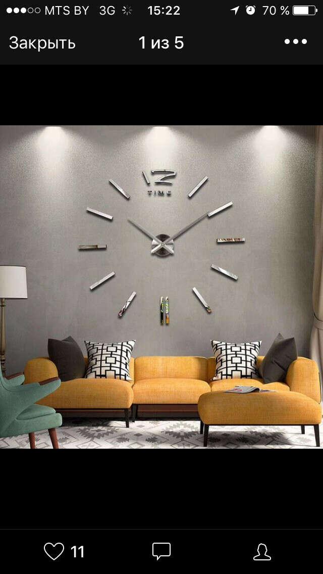 Крутые часы в гостиную