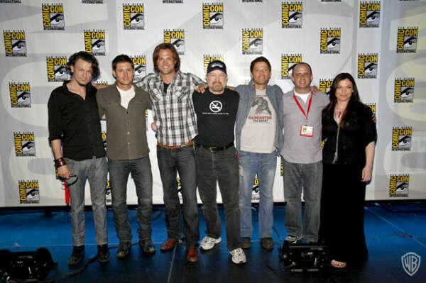 Побывать на Comic con supernatural и встретить Мишу Коллинза:3