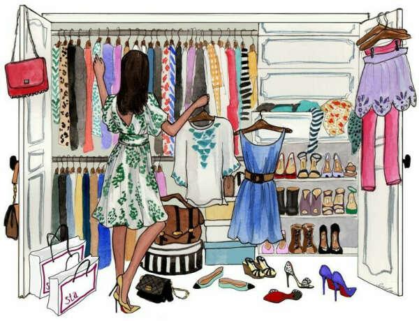 Разбор гардероба и шоппинг со стилистом