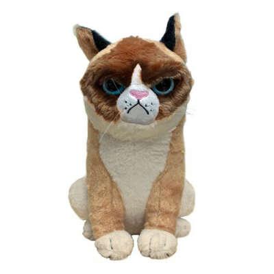 Плюшевая Grumpy Cat