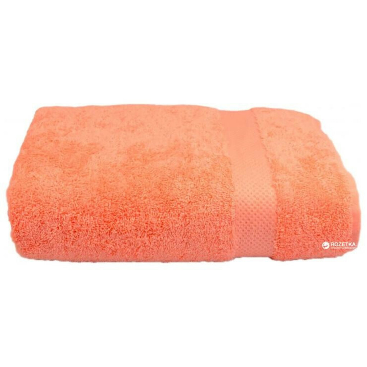 Махровое полотенце Home Line 125396 70х140 Оранжевое (2600001253962)