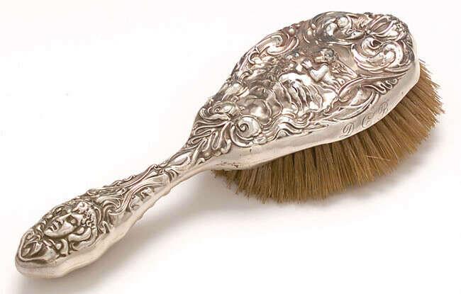 Щетка для волос из щетины