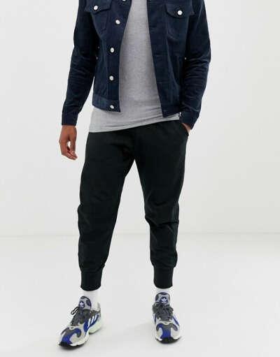 Черные спортивные штаны adidas Originals XBYO