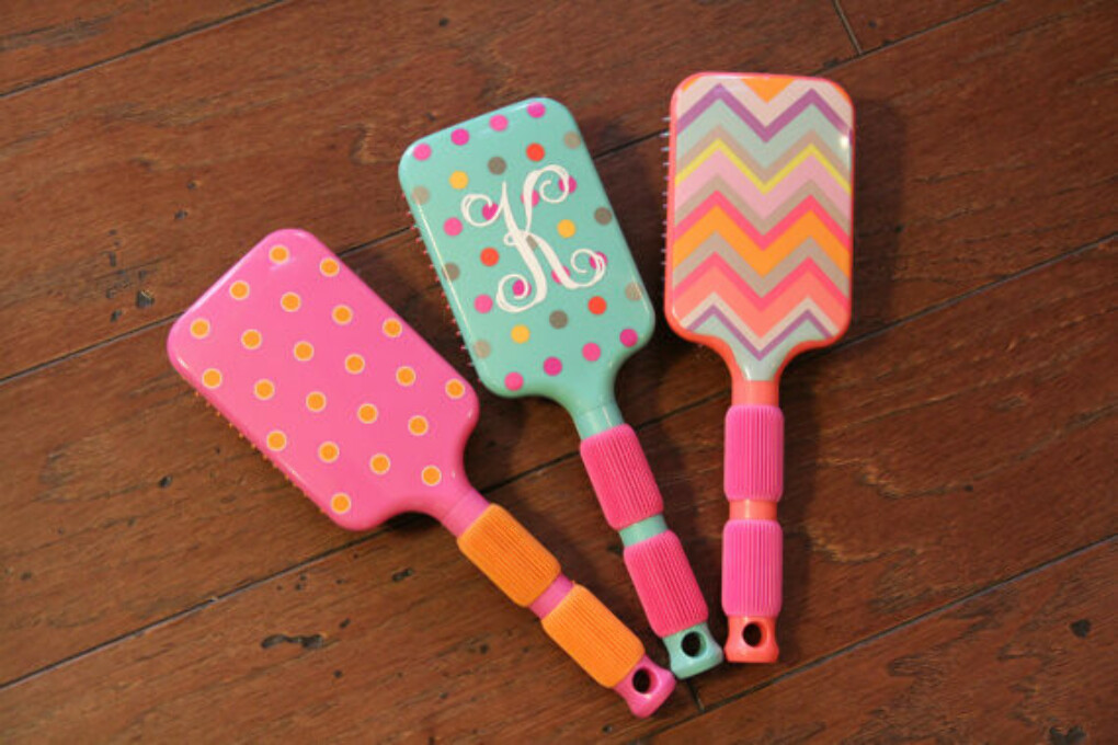 Hair Brush Monogrammed Personalized
