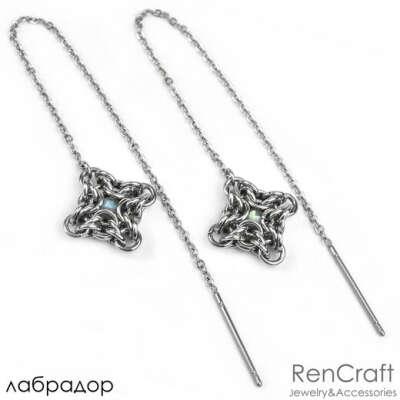 Сережки от RenCraft