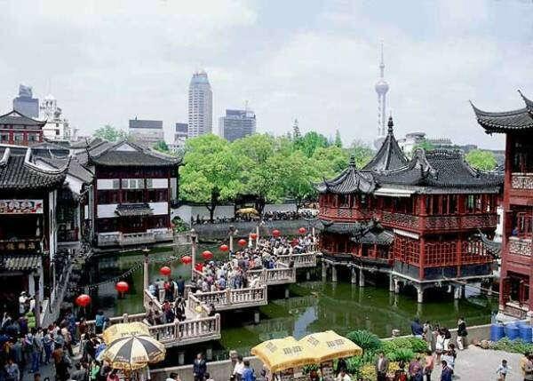 Побывать в Шанхае