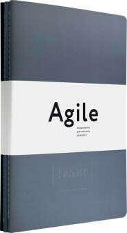 Космос. Agile-ежедневник для личного развития. Темные обложки. 3 тетради