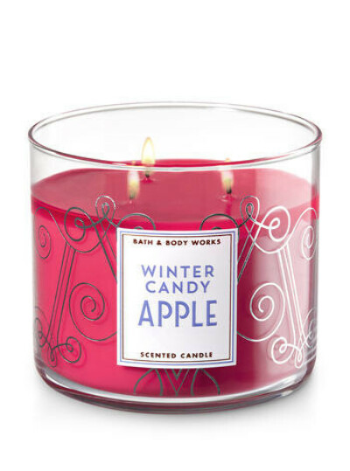 Свеча Winter candy apple от Bath & Body Works