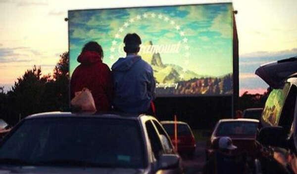 Посмотреть кино под открытым небом