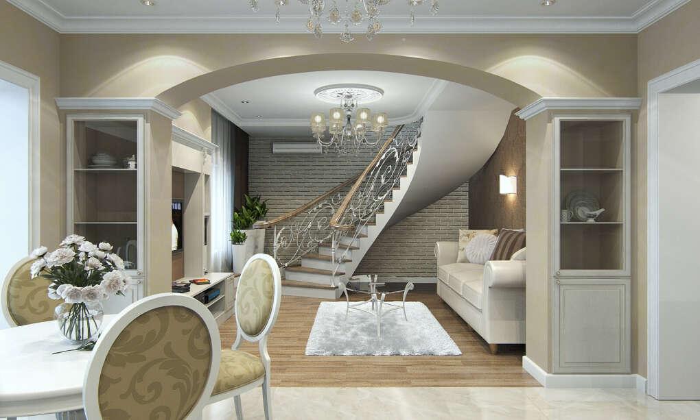 Уютная двухуровневая квартира в центре Москвы