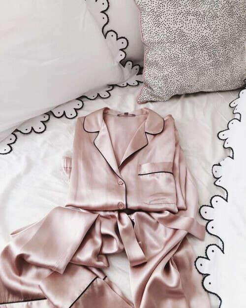 Шёлковая пижама