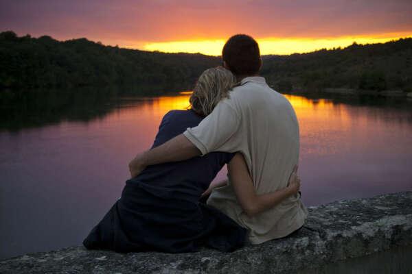 Встретить закат с любимым человеком