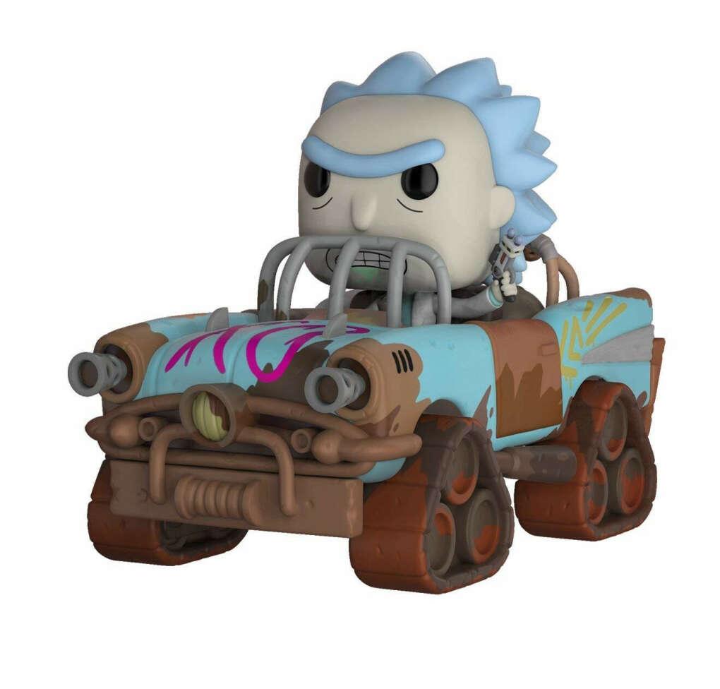 Pop! Rides: Rick and Morty - Mad Max Rick    Безумномакснутый Рик в машине