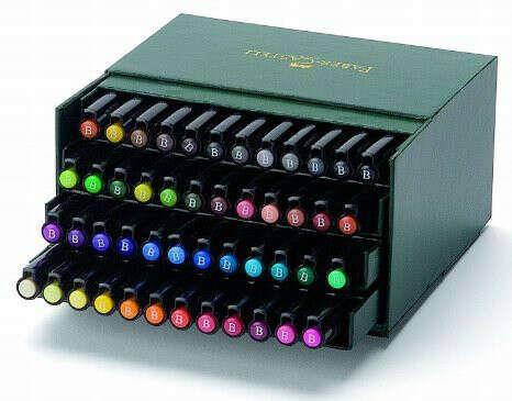 Faber-Castell Pitt Brush Pen Set 48/Pkg