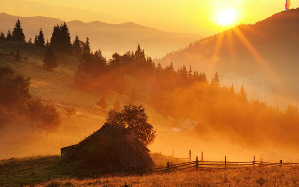 Встретить рассвет в горах