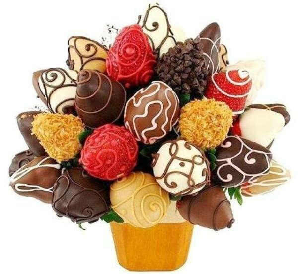 Клубнику в шоколаде