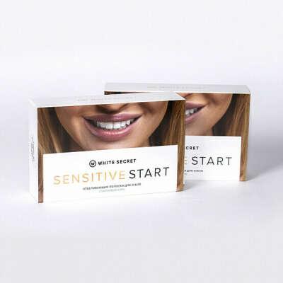 Отбеливающие полоски White Secret Sensitive Start