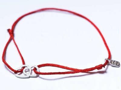 Верёвочный браслет
