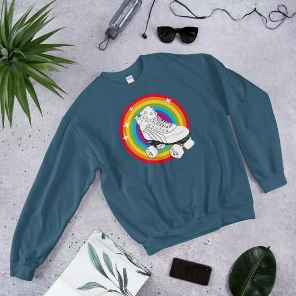Retro skate jumper