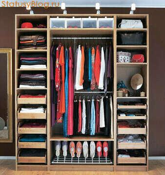 Идеальный порядок в шкафу