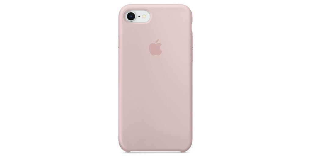 Силиконовый чехол дляiPhone8/7, цвет «розовый песок»