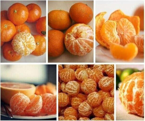 Кучу мандаринок