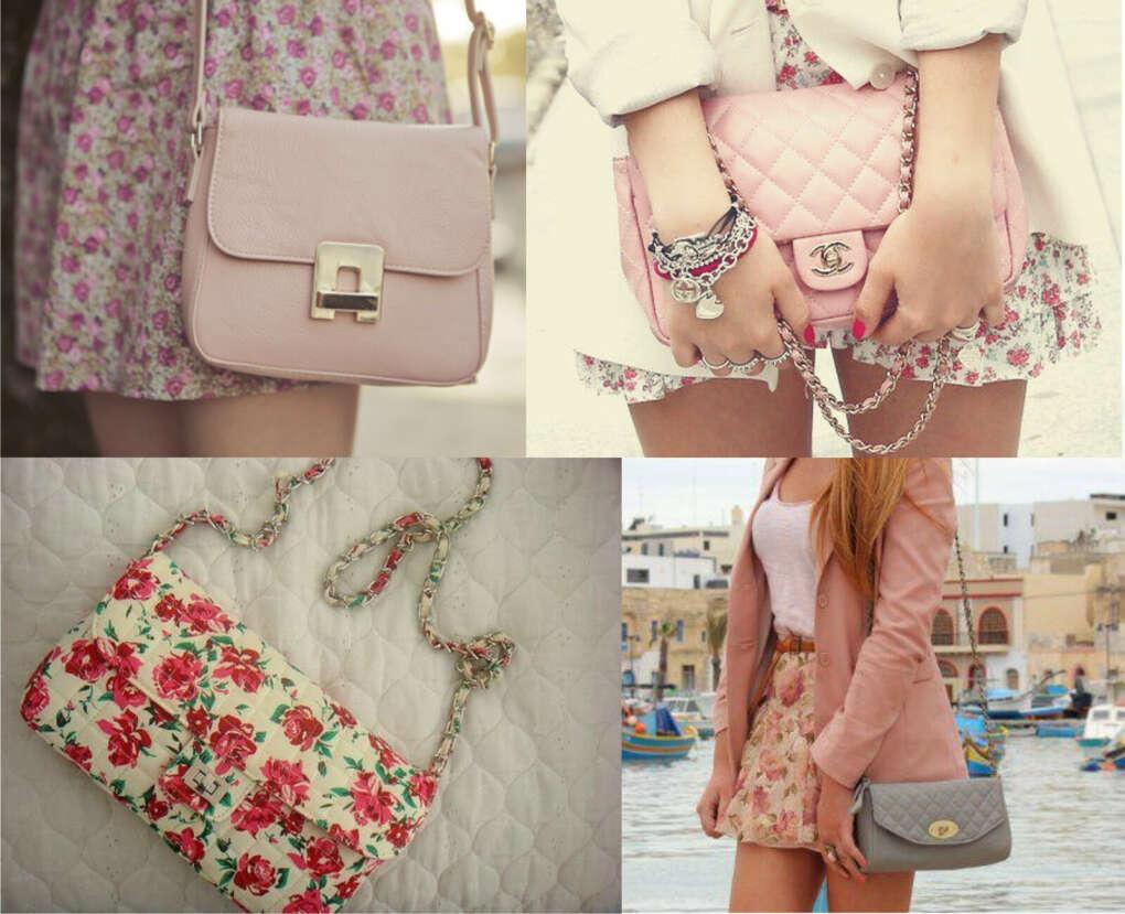 Маленькую сумочку через плечо
