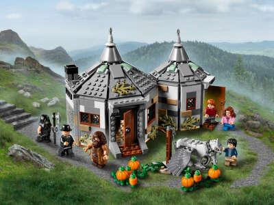 Лего Хижина Хагрида: спасение Клювокрыла