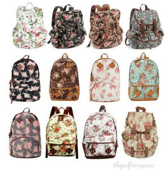 Хочу рюкзак в цветочный принт