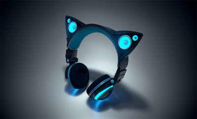 Axent Wear Cat Ear Headphones