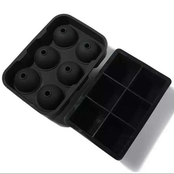 Форма для льда (большие кубы для коктелей)