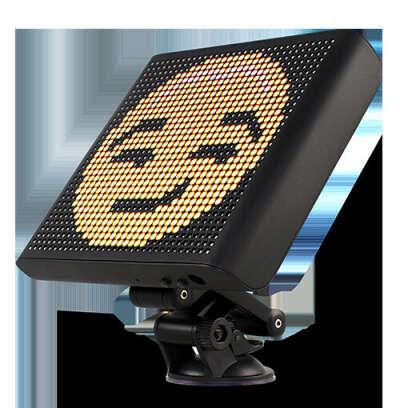 Mdrn Car: Controlled Emoji Car Display