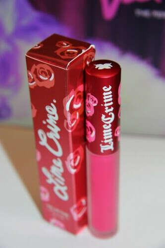 Самая идеальная бархатная помада Lime Crime Velvetines Lipstick: Pink Velvet