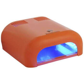 UV- лампа для сушки Шеллак 36W(таймер 2 мин)оранжевая