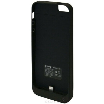 EXEQ HelpinG-iC05 чехол-аккумулятор для iPhone 5/5s, Black (2300 мАч, клип-кейс)