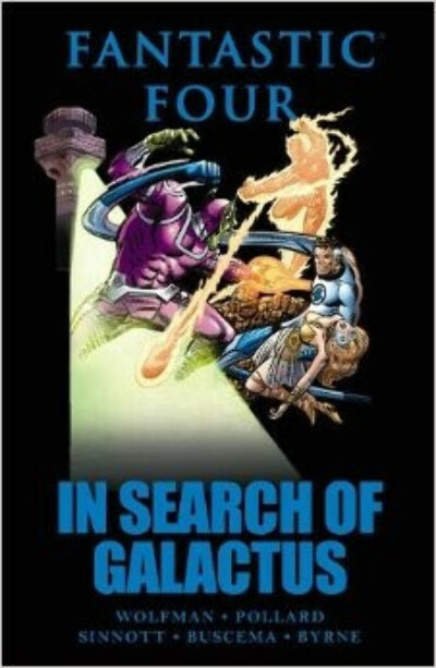 Fantastic Four: In Search of Galactus                                Hardcover                                                                                                                                                                                –