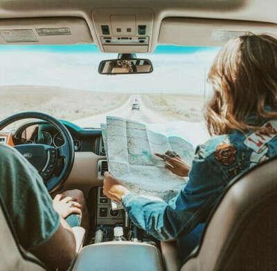 Путешествие с друзьями на машине